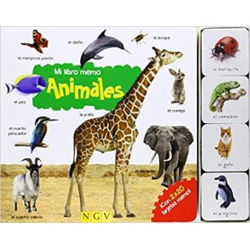 ANIMALES. MI LIBRO MEMO