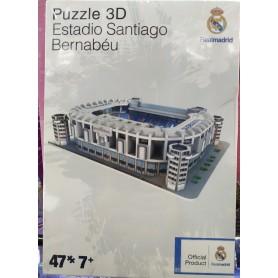 MINI PUZZLE 3D SANTIAGO BERNABEU 47 PZAS