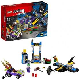 ATAQUE DE THE JOKER A LA BATCUEVA LEGO JUNIORS 10753