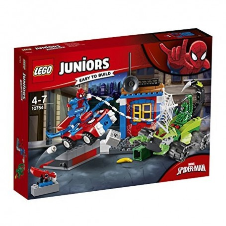 SPIDER-MAN VS. ESCORPIÓN: BATALLA CALLEJERA LEGO JUNIORS 10754