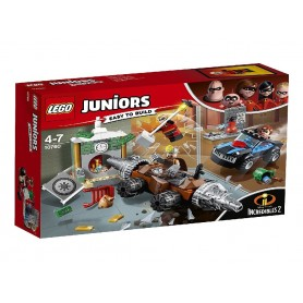 INCREDIBLES 2 - ATRACO AL BANCO DEL SOCAVADOR LEGO JUNIORS 10760