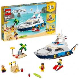 AVENTURAS EN YATE LEGO LEGO CREATOR 31083