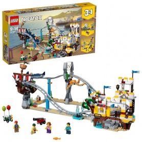MONTAÑA RUSA PIRATA LEGO LEGO CREATOR 31084