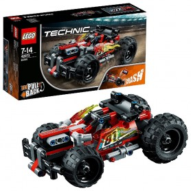 ¡DERRIBA! LEGO TECHNIC 42073