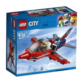 JET DE EXHIBICIÓN LEGO City Great Vehicles 60177