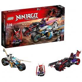 CARRERA CALLEJERA DEL JAGUAR-SERPIENTE LEGO Ninjago 70639