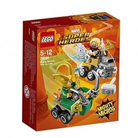 MIGHTY MICROS: THOR VS. LOKI LEGO Super Heroes 76091