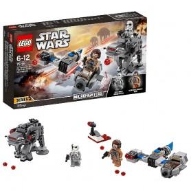 LEGO Star Wars - Lego Microfighters: Speeder Esquiador vs. Caminante de la Primera Orden 75195