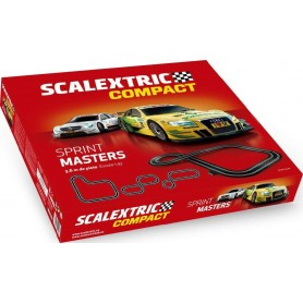 SCALEXTRIC COMPACT CIRCUITO SPRINT MASTERS