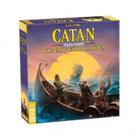 CATAN - EXPANSION PIRATAS Y EXPLORADORES