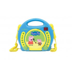 PEPPA PIG - LECTOR CD CON 2 MICROFONOS, INFANTIL