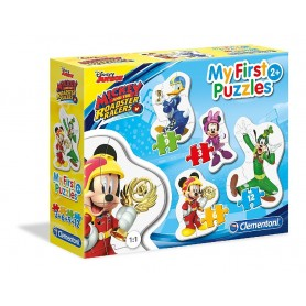 PUZZLE MICKEY AND THE ROADSTER RACERS 3+6+9+12 PZAS