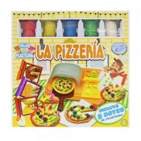 SET PLASTILINA LA PIZZERIA + 5 BOTES PLASTILINA