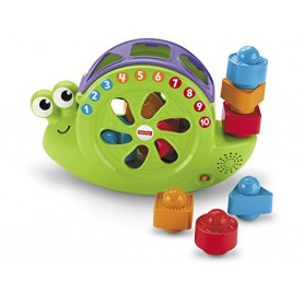 CARACOL FORMAS Y CANCIONES FISHER-PRICE