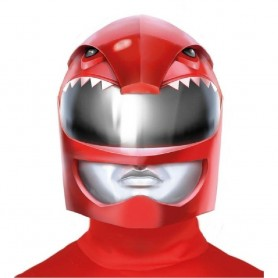 CASCO HEROE DE LA GALAXIA POWER RANGER ROJO