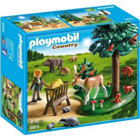 ANIMALES DEL BOSQUE PLAYMOBIL 6815