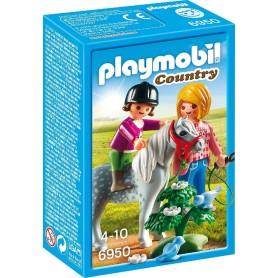 PASEO CON PONI PLAYMOBIL 6950