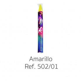BARRAS MAQUILLAJE AMARILLO UV NEON 14X110 MM