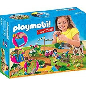 PLAY MAP PASEO CON PONIS PLAYMOBIL 9331
