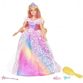 BARBIE DREAMTOPIA SUPERPRINCESA CON ACCESORIOS