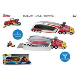 CAMION BOLIDO RODADOR MICKEY AND THE ROADSTER RACERS