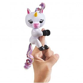 UNICORNIO FINGERLINGS BLANCO GIGI INTERACTIVO