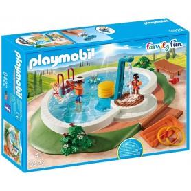 PISCINA FAMILY FUN PLAYMOBIL 9422