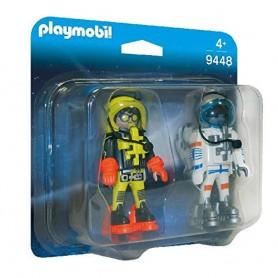PLAYMOBIL PACK ASTRONAUTAS - PLAYMOBIL 9448