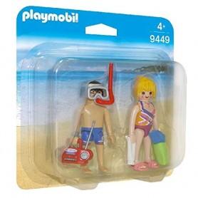 PLAYMOBIL PACK FIGURAS PLAYA - PLAYMOBIL 9449