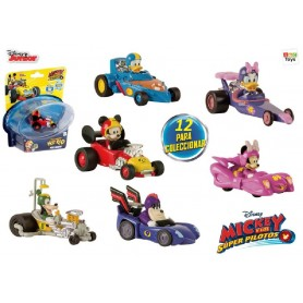 MINI VEHICULO MICKEY AND THE ROADSTER RACERS (SURTIDO)
