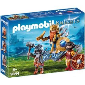 PLAYMOBIL KNIGHTS REY DE LOS GNOMOS 9344