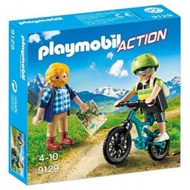 CICLISTA Y EXCURSIONISTA  PLAYMOBIL 9129