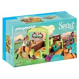 ESTABLO LUCKY Y SPIRIT PLAYMOBIL 9478