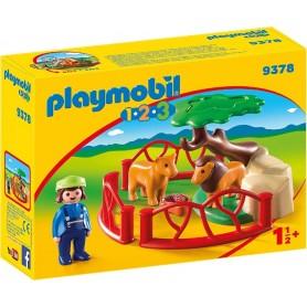 1.2.3 RECINTO LEONES PLAYMOBIL 9378