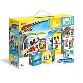 MALETIN 12 CUBOS MULTIPLAY MICKEY ROADSTER RACER