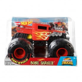 MONSTER TRUCKS HOT WHEELS BONE SHAKER 1:24