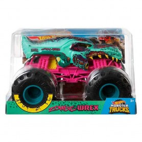 MONSTER TRUCKS HOT WHEELS  ZOMBIE WREX 1:24