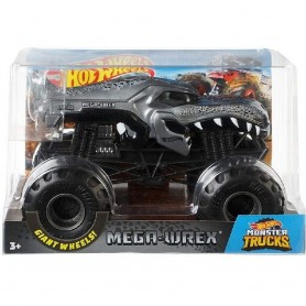 MONSTER TRUCKS HOT WHEELS MEGA WREX 1:24