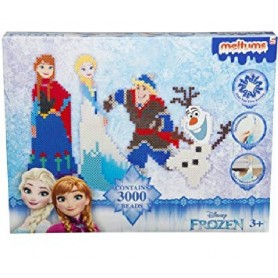 SET PERLAS FUNDIBLES FROZEN 3000 PÌEZAS