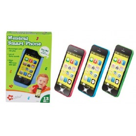 SMART PHONE MUSICAL CON 40 MELODIAS