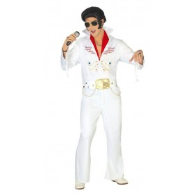 DISFRAZ REY DEL ROCK ADULTO ELVIS TALLA XL 54-56