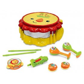 TAMBOR MUSICAL LEON CON ACCESORIOS FISHER PRICE