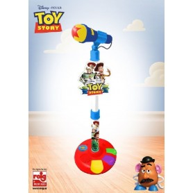 TOY STORY - MICRO DE PIE3 CON AMPLIFICADOR Y FUN.