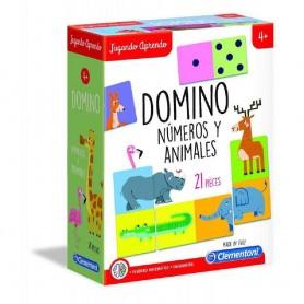 DOMINO DE LOS ANIMALES +4 AÑOS