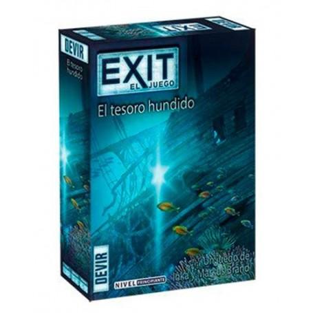 JUEGO EXIT: EL TESORO HUNDIDO