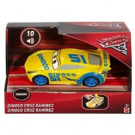 DINOCO CRUZ RAMIREZ CARS LUZ Y SONIDO