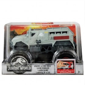 JURASSIC WORLD: CARRO BLINDADO MATCHBOX 1:24