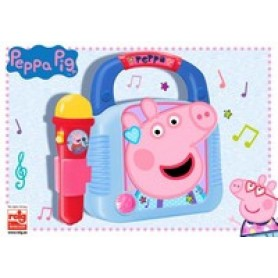 PEPPA PIG REPRODUCTOR MP3 CON MICRO Y BLUETOOTH