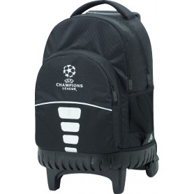 MOCHILA CHAMPIONS LEAGUE BLACK CARRO FIJO COMPACT